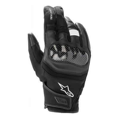 Gants cuir/textile Alpinestars SMX Z Drystar noir