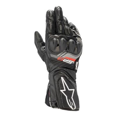 Gants cuir/textile Alpinestars SP-8 v3 noir