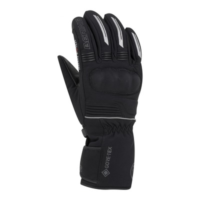Gants cuir/textile Bering Hercule GTX noir