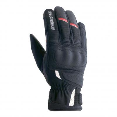 Gants cuir/textile Bering Renzo noir