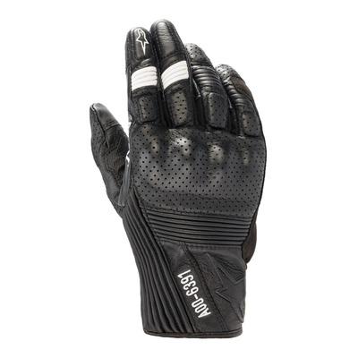 Gants cuir/textile Diesel/Alpinestars AS-DSL Kei noir