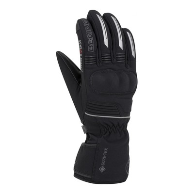 Gants cuir/textile femme Bering Hercule GTX noir