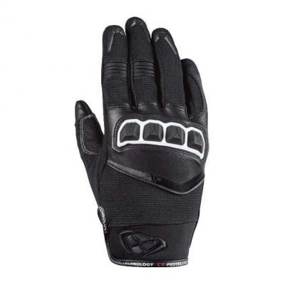 Gants cuir/textile femme Ixon RS Run Lady noir