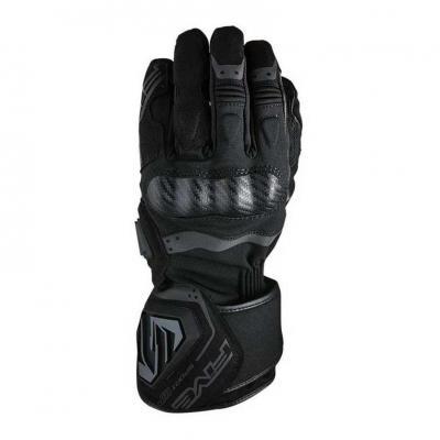 Gants cuir/textile Five Sport WP noir