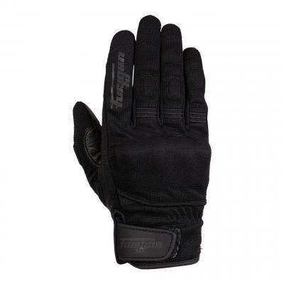 Gants cuir/textile Furygan Jet D3O noir