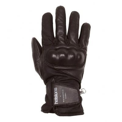 Gants cuir/textile Helstons Curtis noir