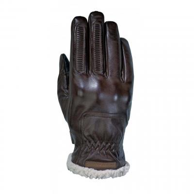 Gants cuir/textile Ixon Pro Custom marron