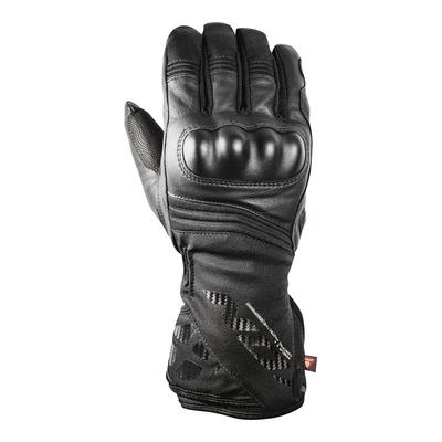 Gants cuir/textile Ixon Pro Rescue 2 noir