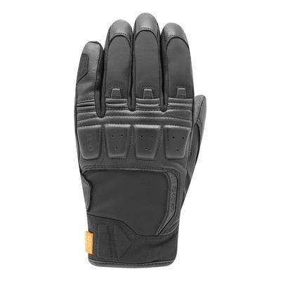 Gants cuir/textile Racer Ronin Winter noir
