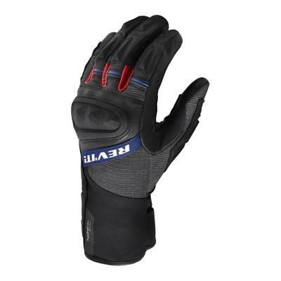 Gants cuir/textile Rev'it Sand 4 H2O noir/rouge