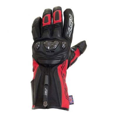 Gants cuir/textile RST Paragon V waterproof rouge