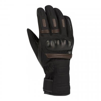 Gants cuir/textile Segura Nedd noir