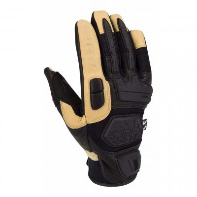 Gants cuir/textile Segura Tactic noir/beige