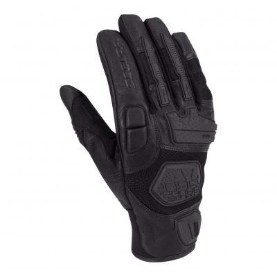 Gants cuir/textile Segura Tactic noir