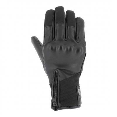 Gants cuir/textile V'Quattro Boston 18 noir