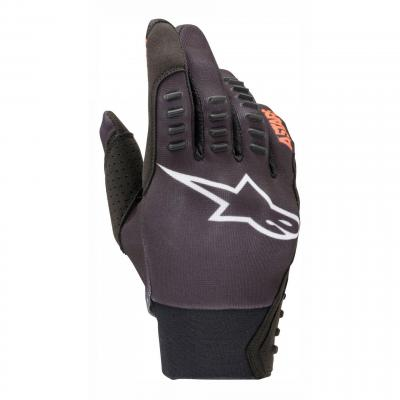 Gants enduro Alpinestars SMX-E noir/orange fluo