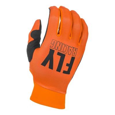 Gants enfant Fly Racing Pro Lite orange/noir