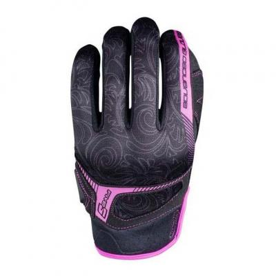 Gants femme Five RS3 REPLICA WOMAN noir/rose