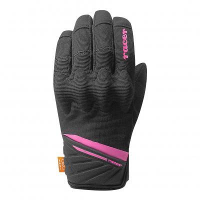 Gants femme Racer Roca F2 noir / rose