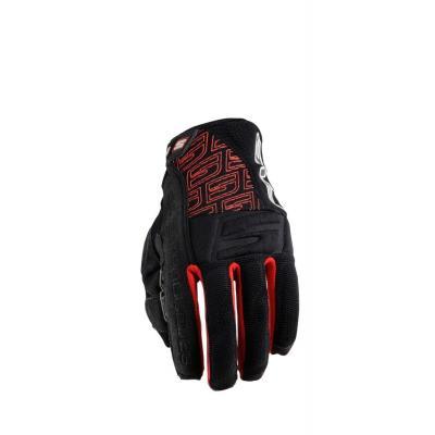 Gants Five ENDURO QUAD SUMMER noir/rouge