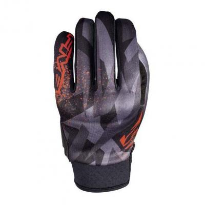 Gants Five GLOBE REPLICA CAMO rouge fluo