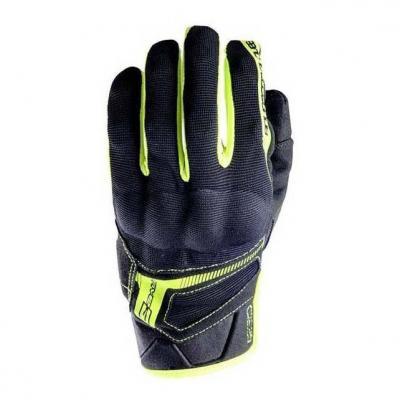 Gants Five RS3 noir/jaune fluo