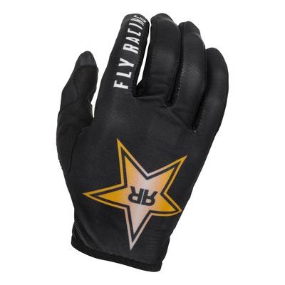 Gants Fly Racing Lite Rockstar noir/or