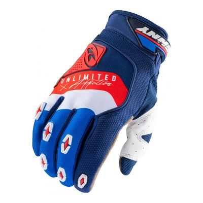Gants Kenny Safety navy/blanc/rouge