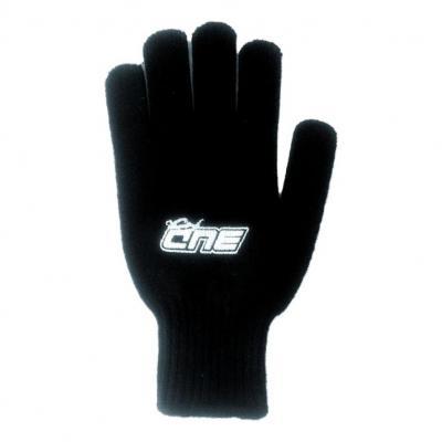 Gants laine Bud Racing noir