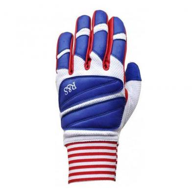 Gants Ride And Sons STARWEST blanc/rouge/bleu