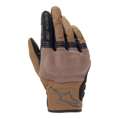 Gants textile Alpinestars Copper marron teak