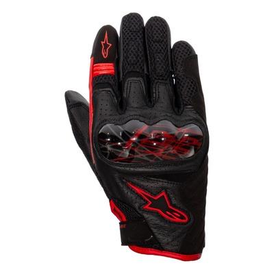 Gants textile Alpinestars Rio Hondo v2 Air Marc Marquez noir/bright rouge