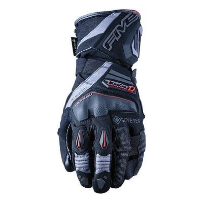 Gants textile/cuir Five TFX1 GTX noir/gris