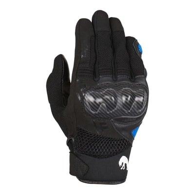 Gants textile/cuir Furygan Galax noir/bleu