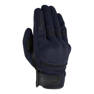 Gants textile/cuir Furygan Jet D3O bleu/noir