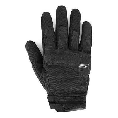 Gants textile/cuir S-Line Air fresh noir