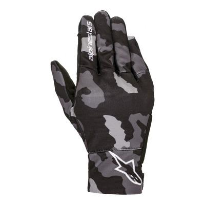 Gants textile enfant Alpinestars Reef noir/gris/camouflage