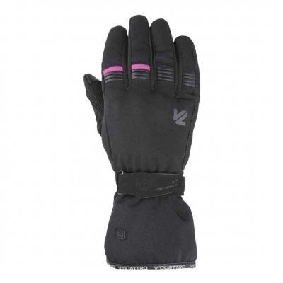 Gants textile femme V'Quattro Lady Core 18 noir