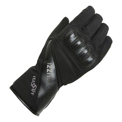 Gants textile hiver Moto Guzzi noir
