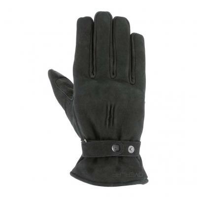 Gants textile Overlap London noir
