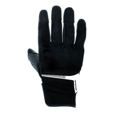 Gants textile S-Line pouce index tactiles noir/blanc