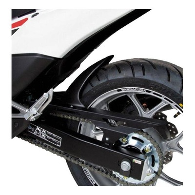 Garde-boue arrière Barracuda noir Honda NC 750 S 15-20