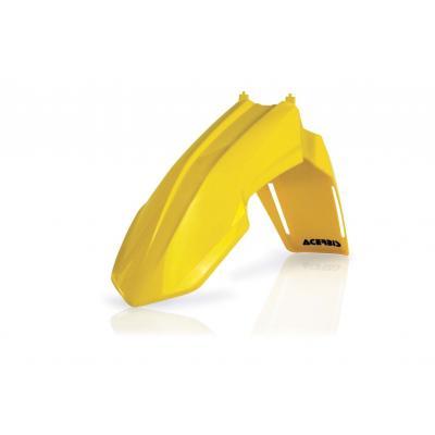 Garde-boue avant Acerbis Suzuki 250 RMZ 10-17 jaune