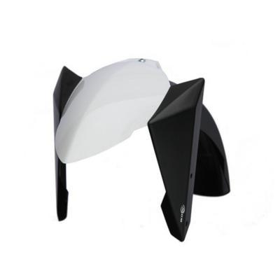 Garde boue avant BCD Yamaha Tmax 530 12-14 blanc brillant