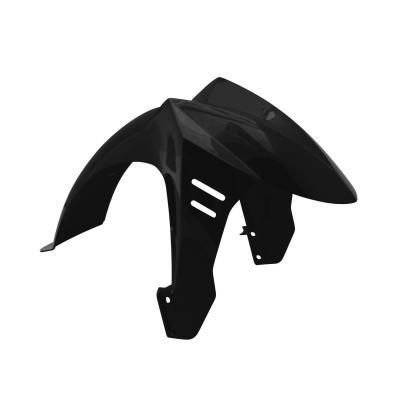 Garde boue avant noir brillant adaptable Ludix 14 pouces