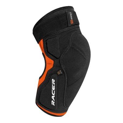 Genouillère Racer Profile Knee D3O noir/orange