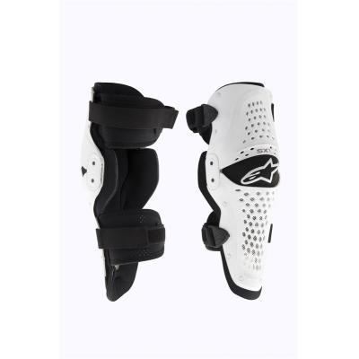 Genouillères Alpinestars SX-1 blanc/noir