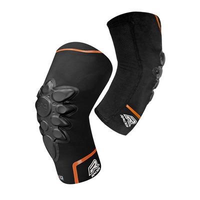 Genouillères Racer Smart-Skin Knee noir