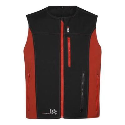Gilet chauffant sans manche Keis V501 noir/rouge