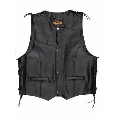 Gilet cuir Held PATCH noir